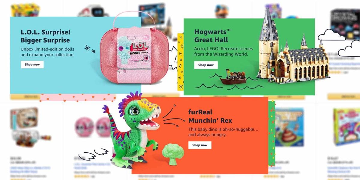 Amazon Top 100 Toys List