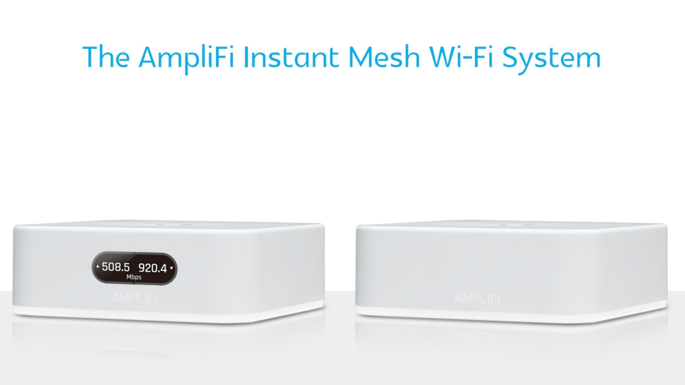 Ubiquiti releases new AmpliFi Instant Mesh Wi-Fi System, sets up in under 2 minutes