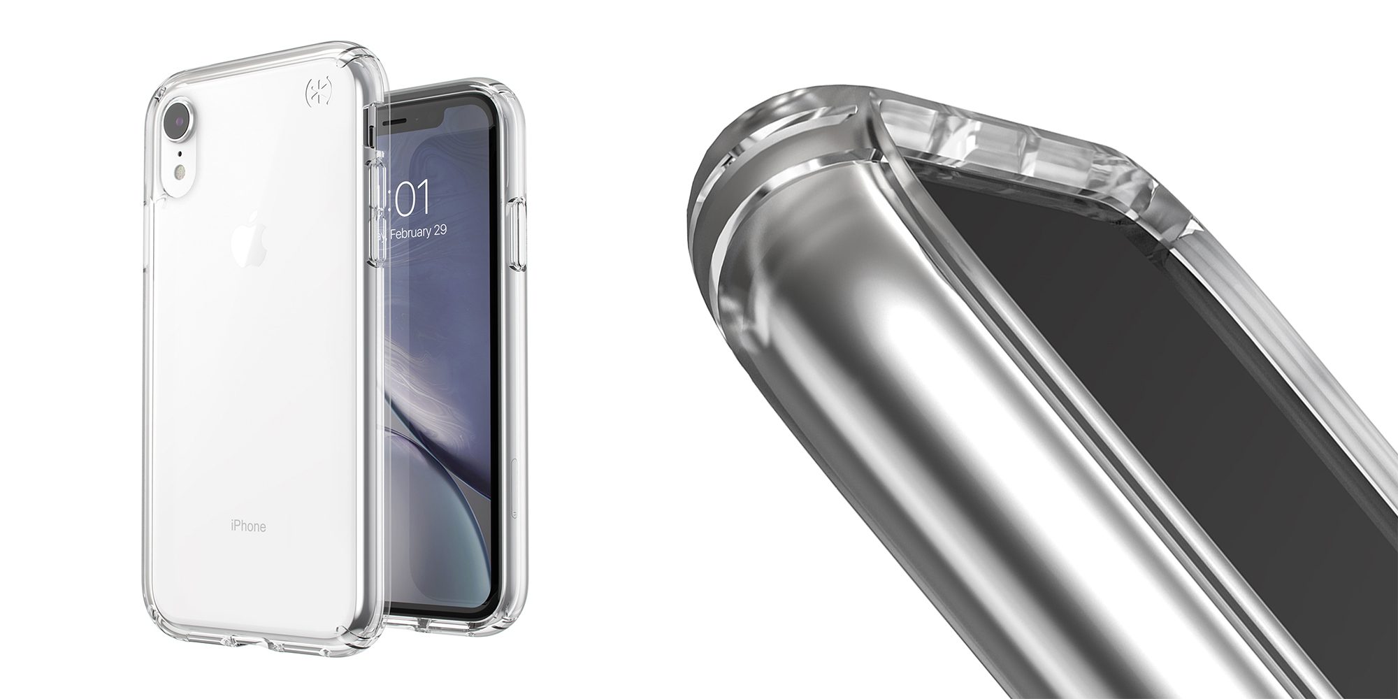 mous xr iphone case clear
