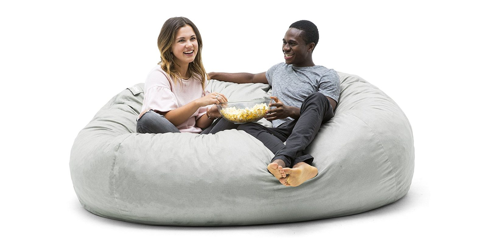 Relax In This Giant Xxl Bean Bag Chair At An Amazon All