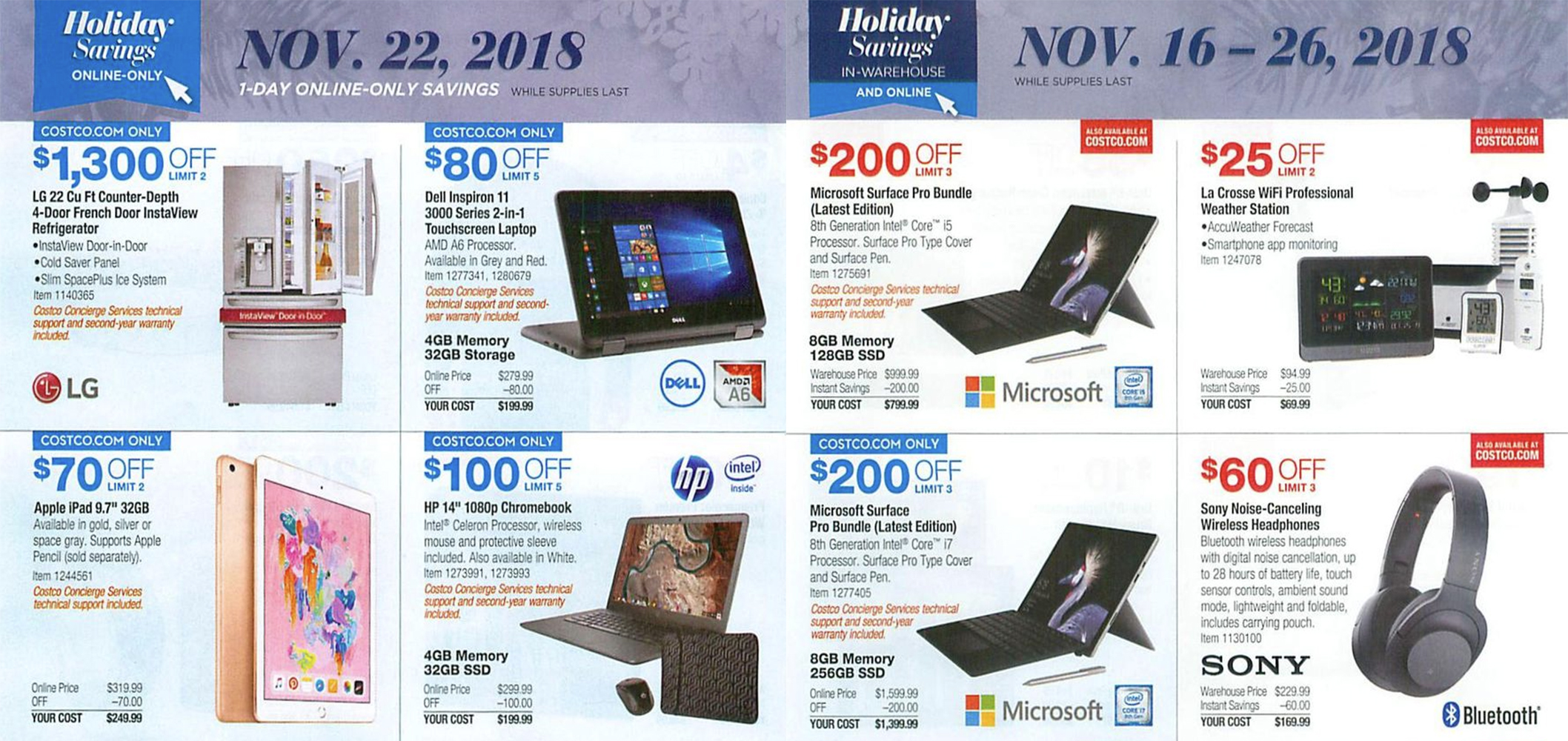 Costco Black Friday ad leak reveals first look at this year's hottest deals