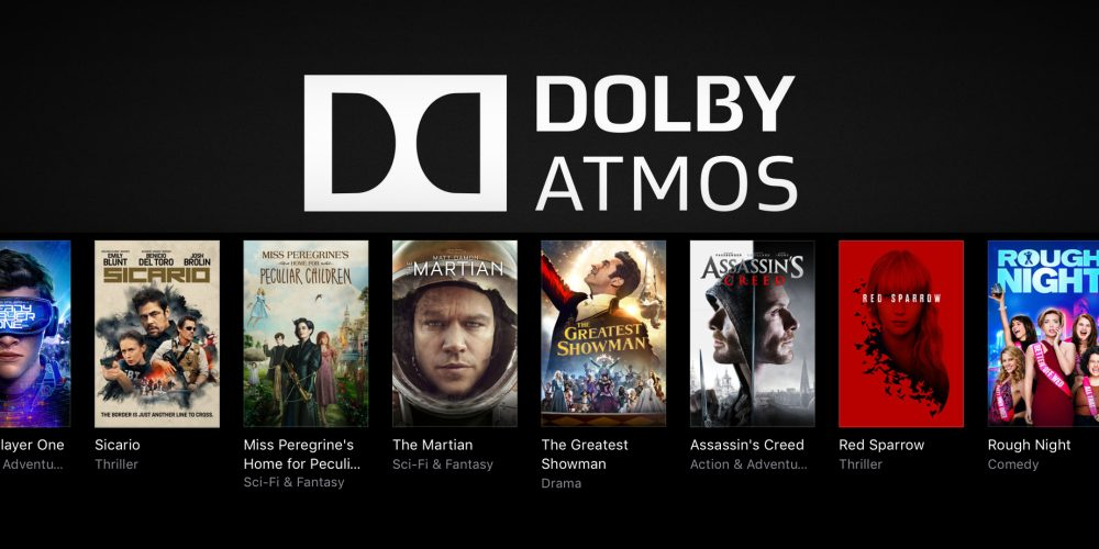 iTunes launches massive Dolby Atmos 4K movie sale from $5