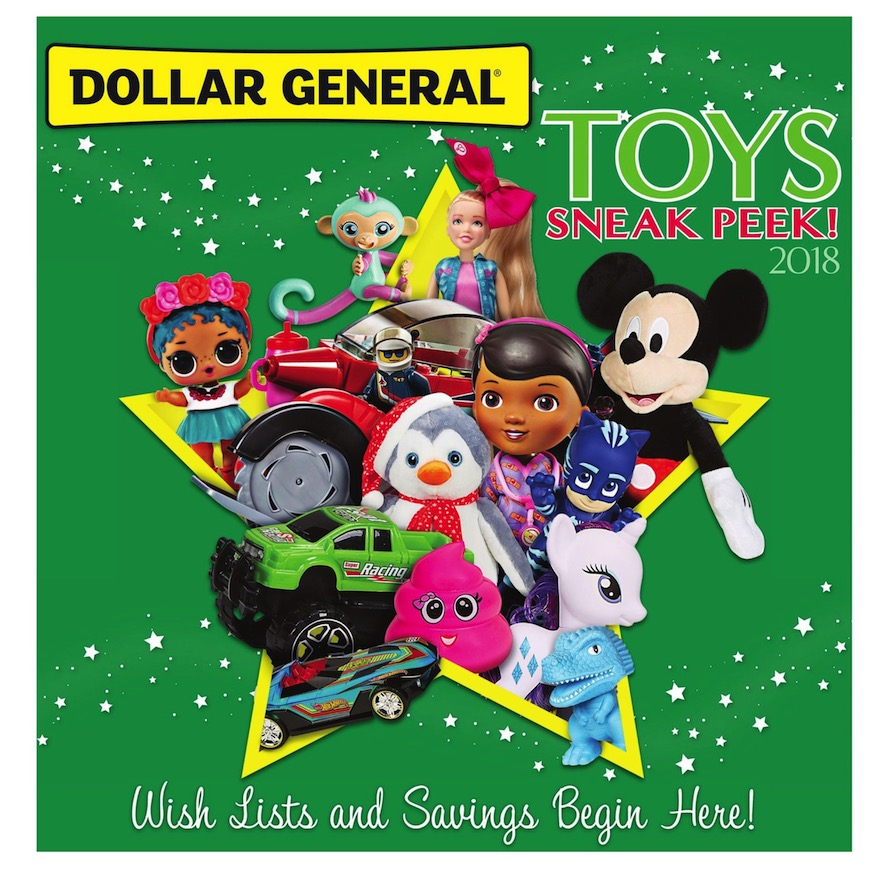 Dollar General Toy Book page 1