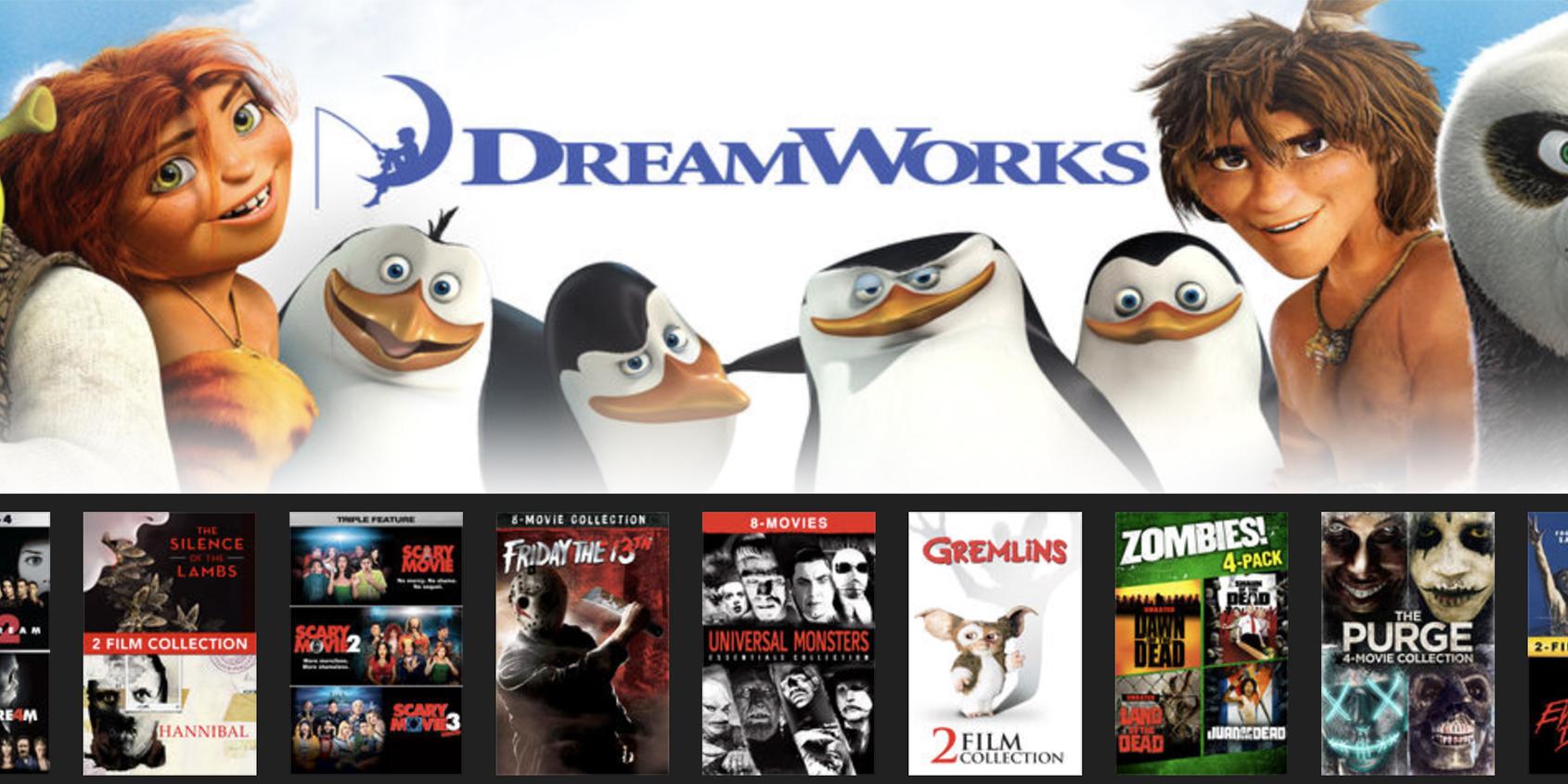 iTunes kicks off movie bundle sale from $10 plus DreamWorks