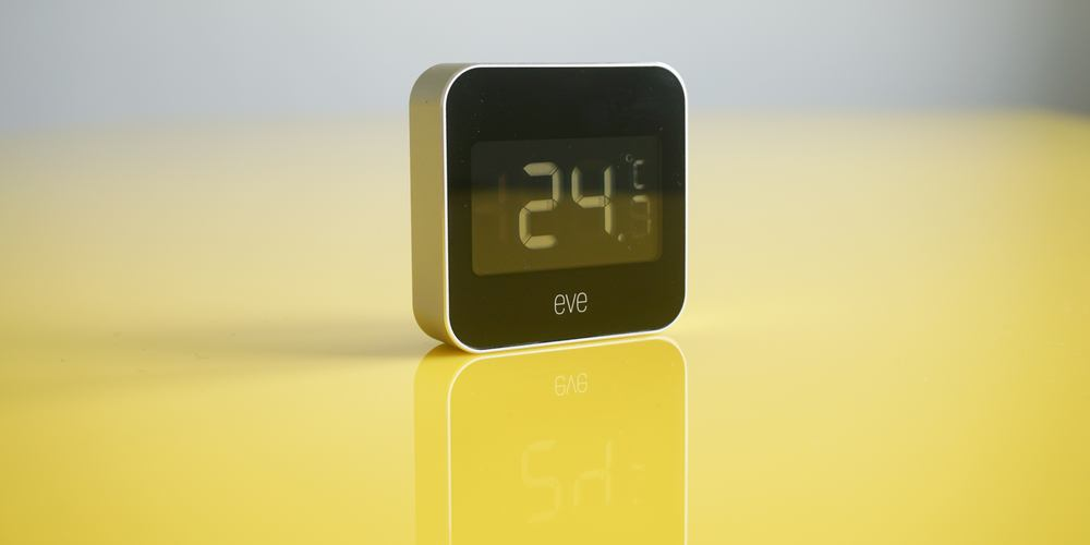 Monitor temperature & humidity w/ the HomeKit-enabled Eve Degree at $55 (20% off)