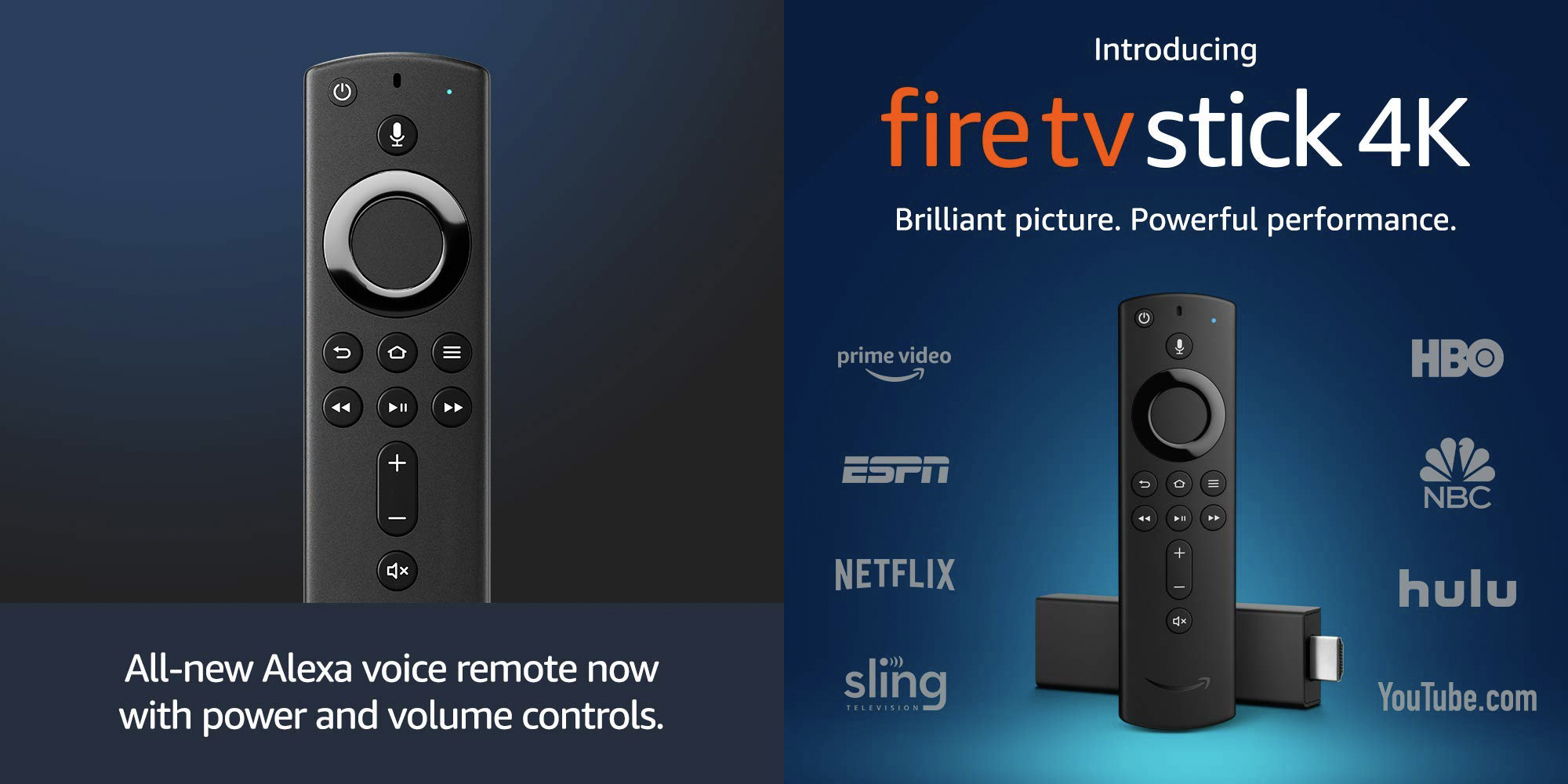 Amazon Fire TV Stick 4K features