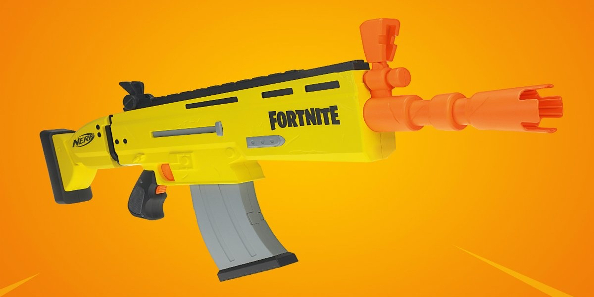 Nerf Fortnite Scar Blaster Unveiled Before Official Launch Next Year