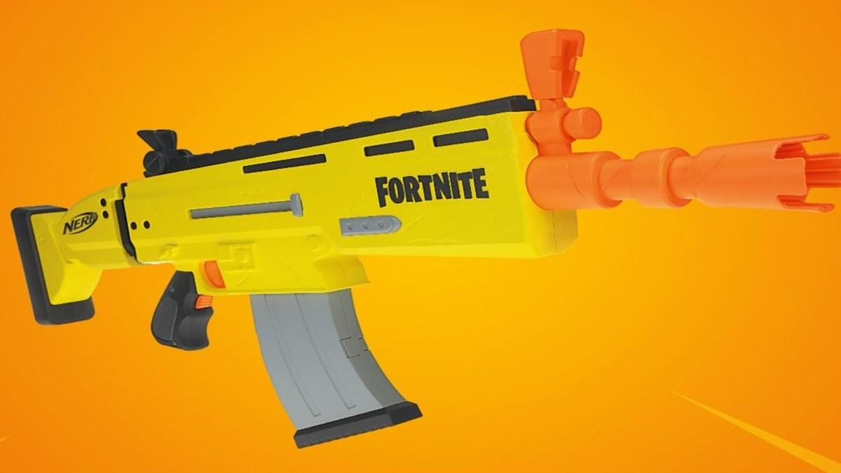 Nerf Fortnite Scar Blaster