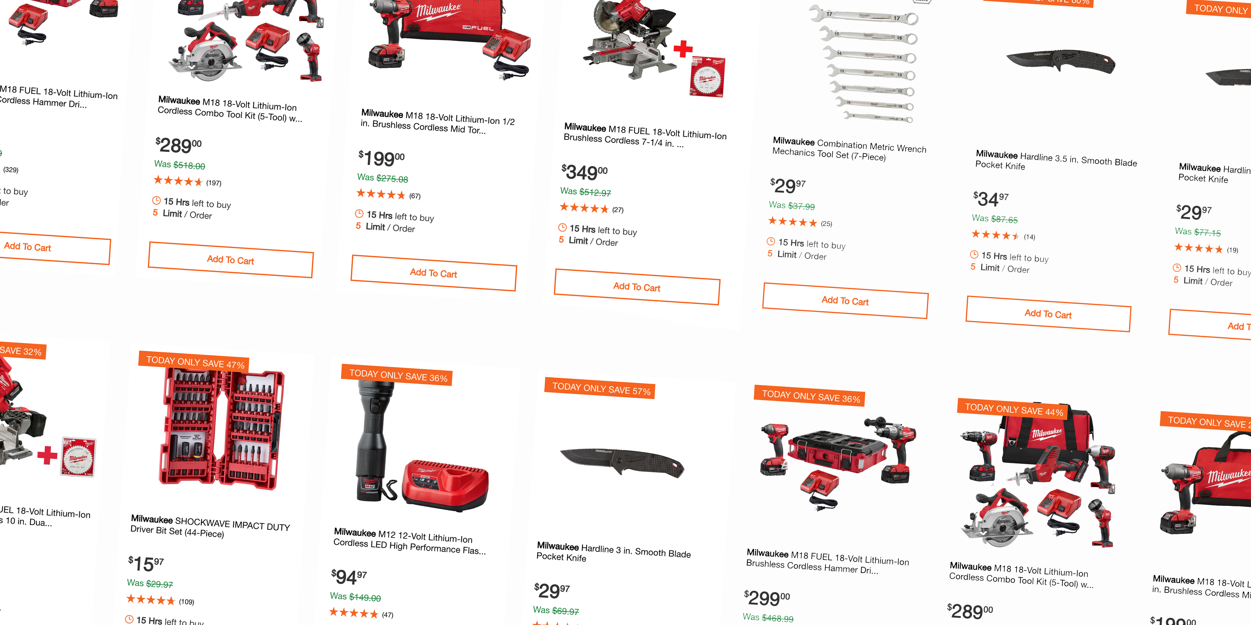 Home Depot's 1-day Milwaukee power tool sale includes pocket knives from $25