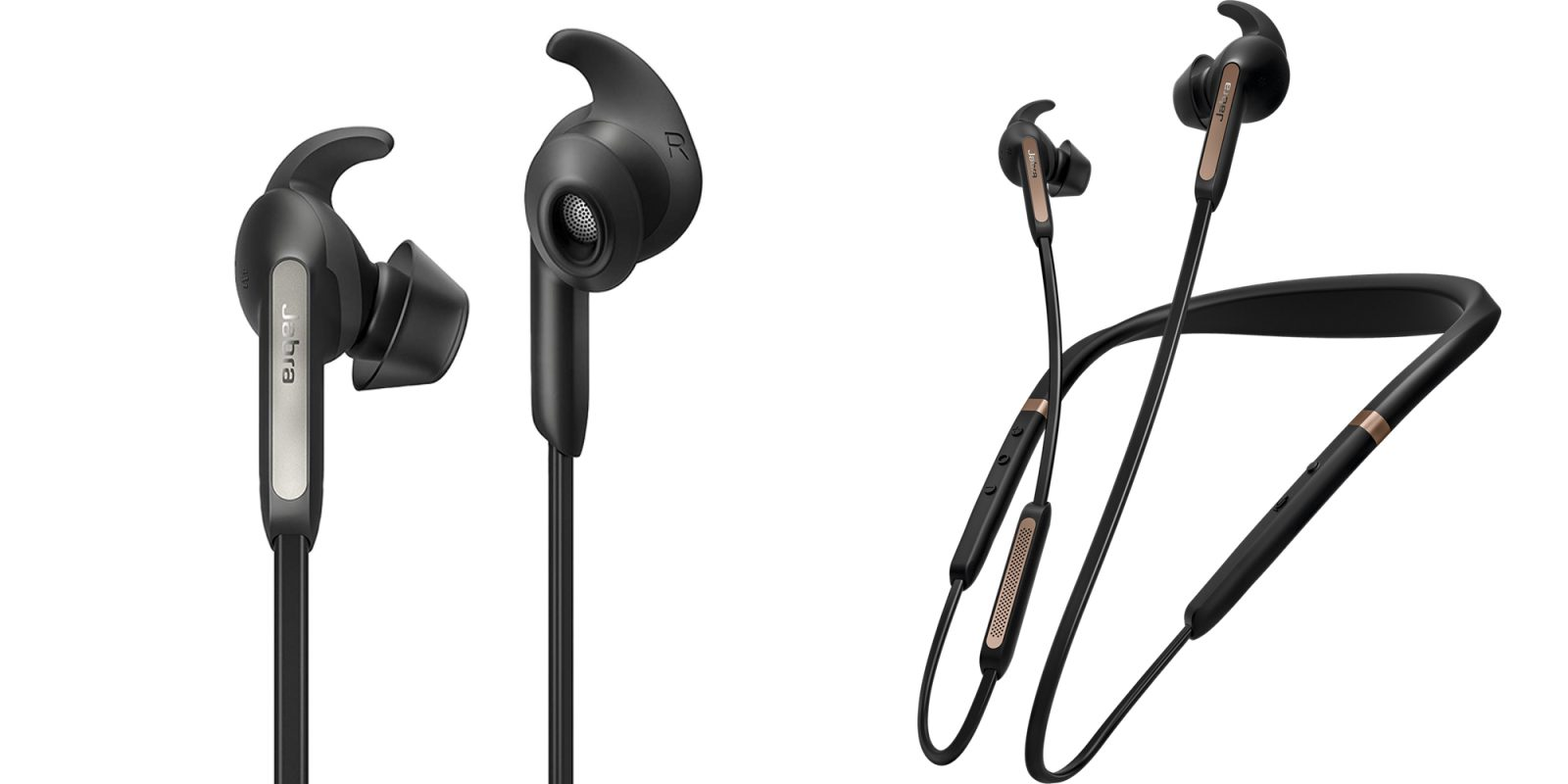 Jabra S 100 Elite 65e Bluetooth Earbuds Have A Dedicated Alexa Siri Button 50 Off 9to5toys