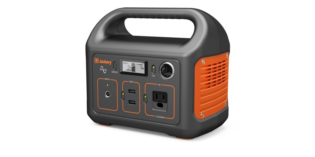 Jackery S Portable Power Station Has Ac Dc And Usb W A