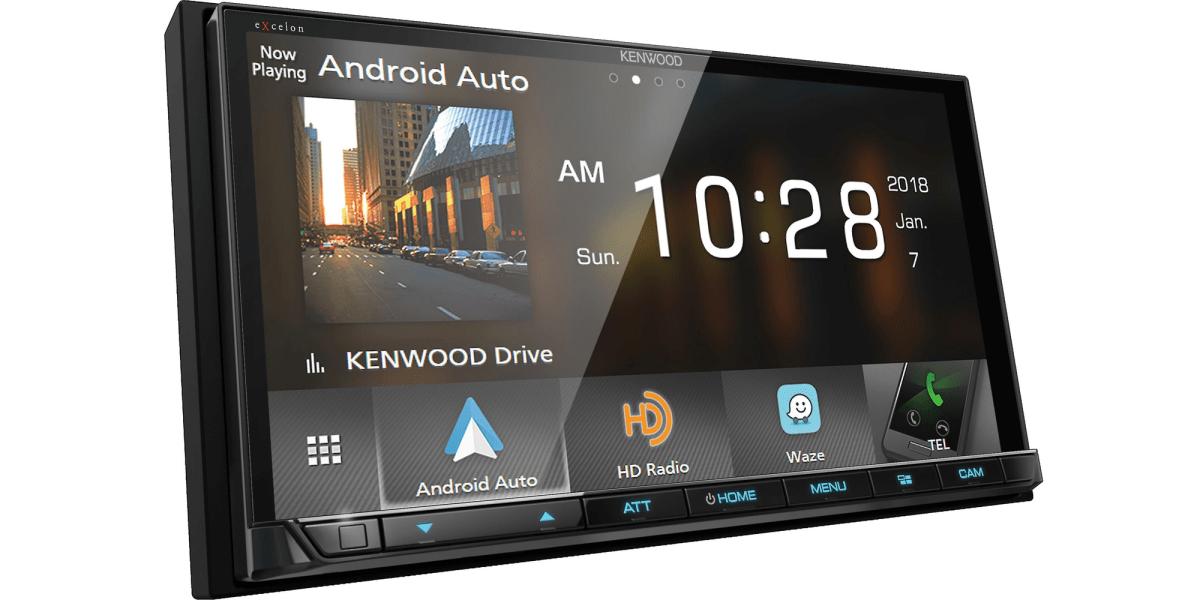 Kenwood CarPlay Receiver
