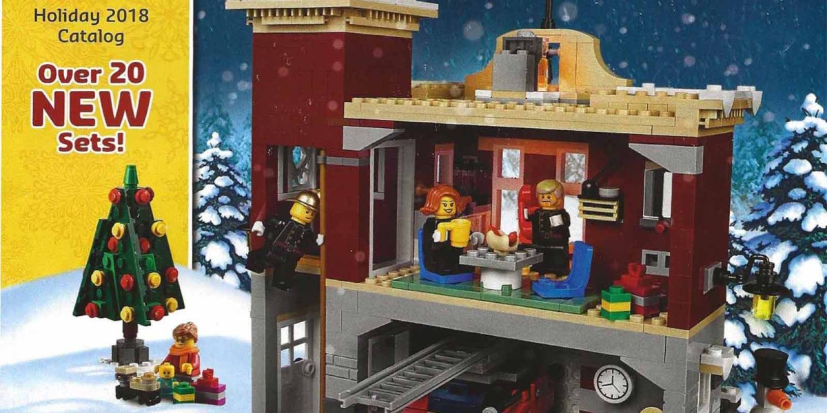 LEGO Holiday 2018 Toy Book