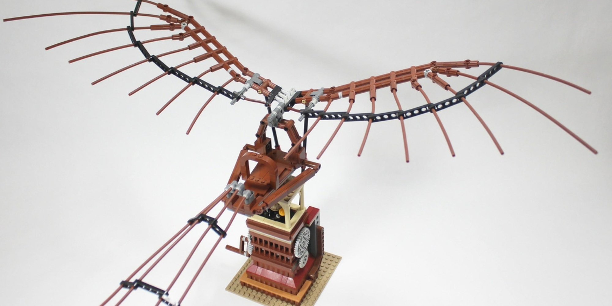 LEGO Ideas October Da Vinci Glider