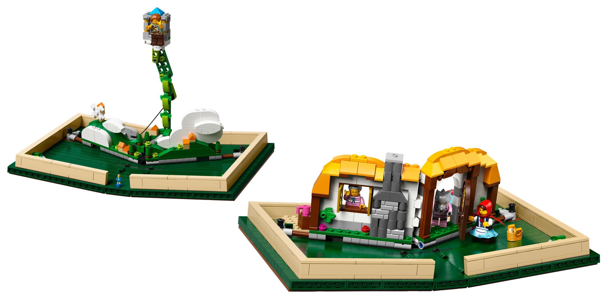 LEGO Pop-Up Book Vignettes