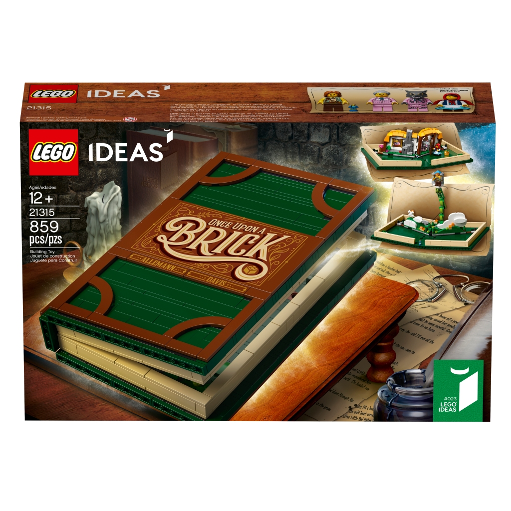 LEGO Pop-Up Book Front Box