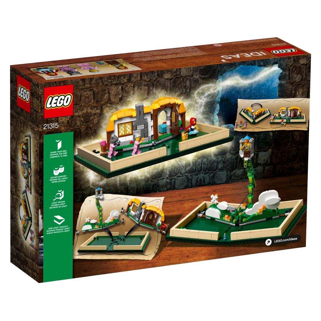 LEGO Pop-Up Book Box Back