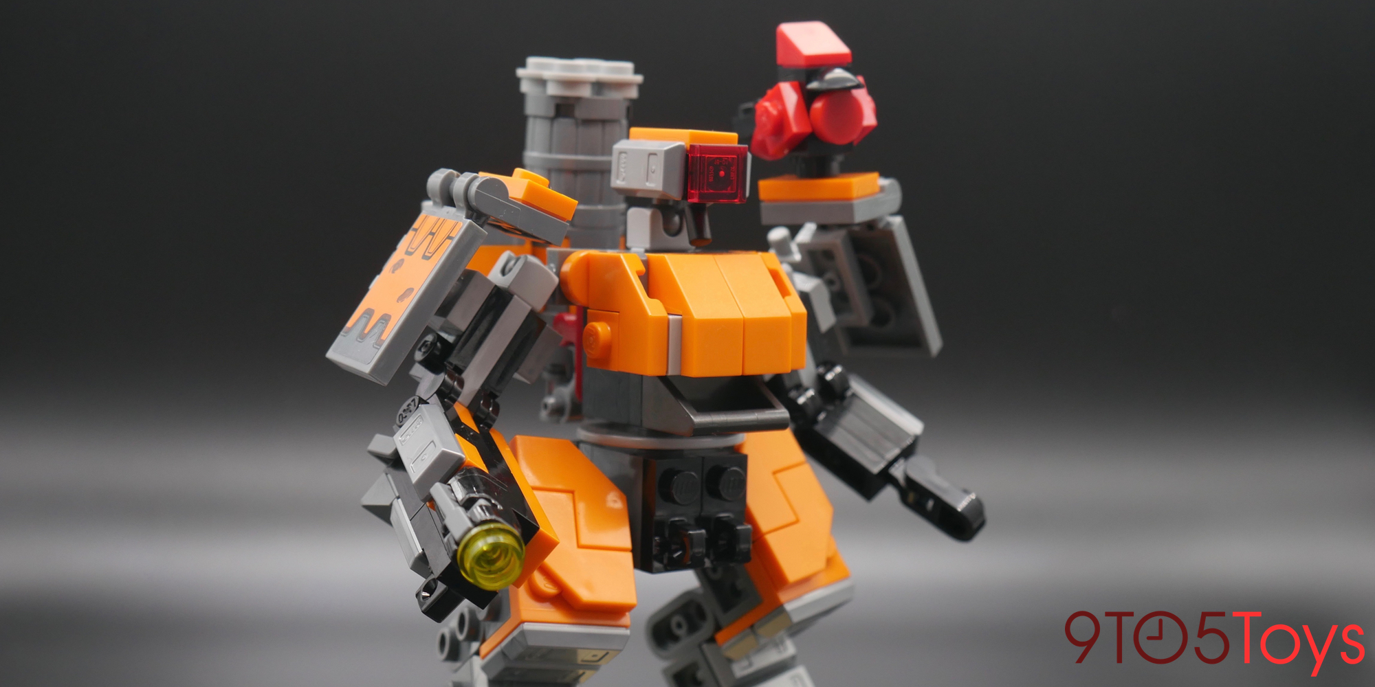 LEGO Overwatch Bastion Pose