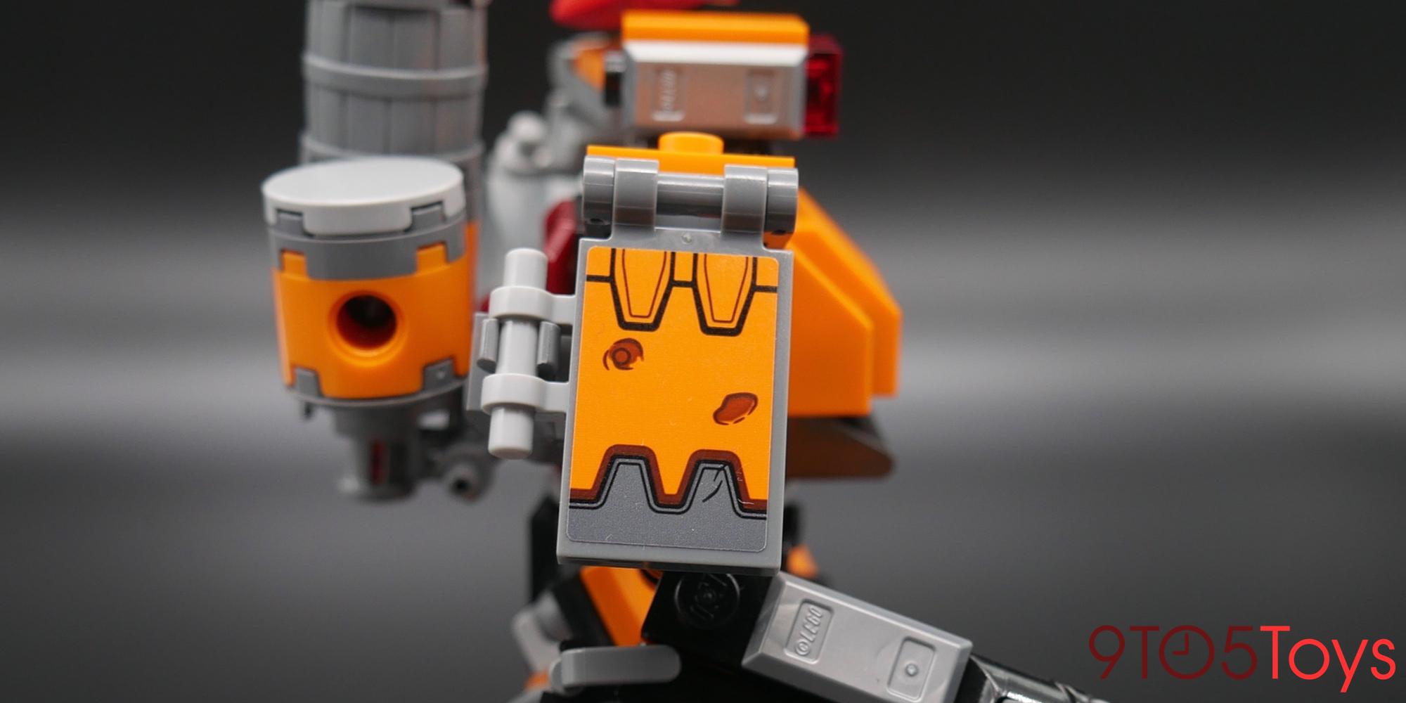 LEGO Overwatch Bastion Arm Decal