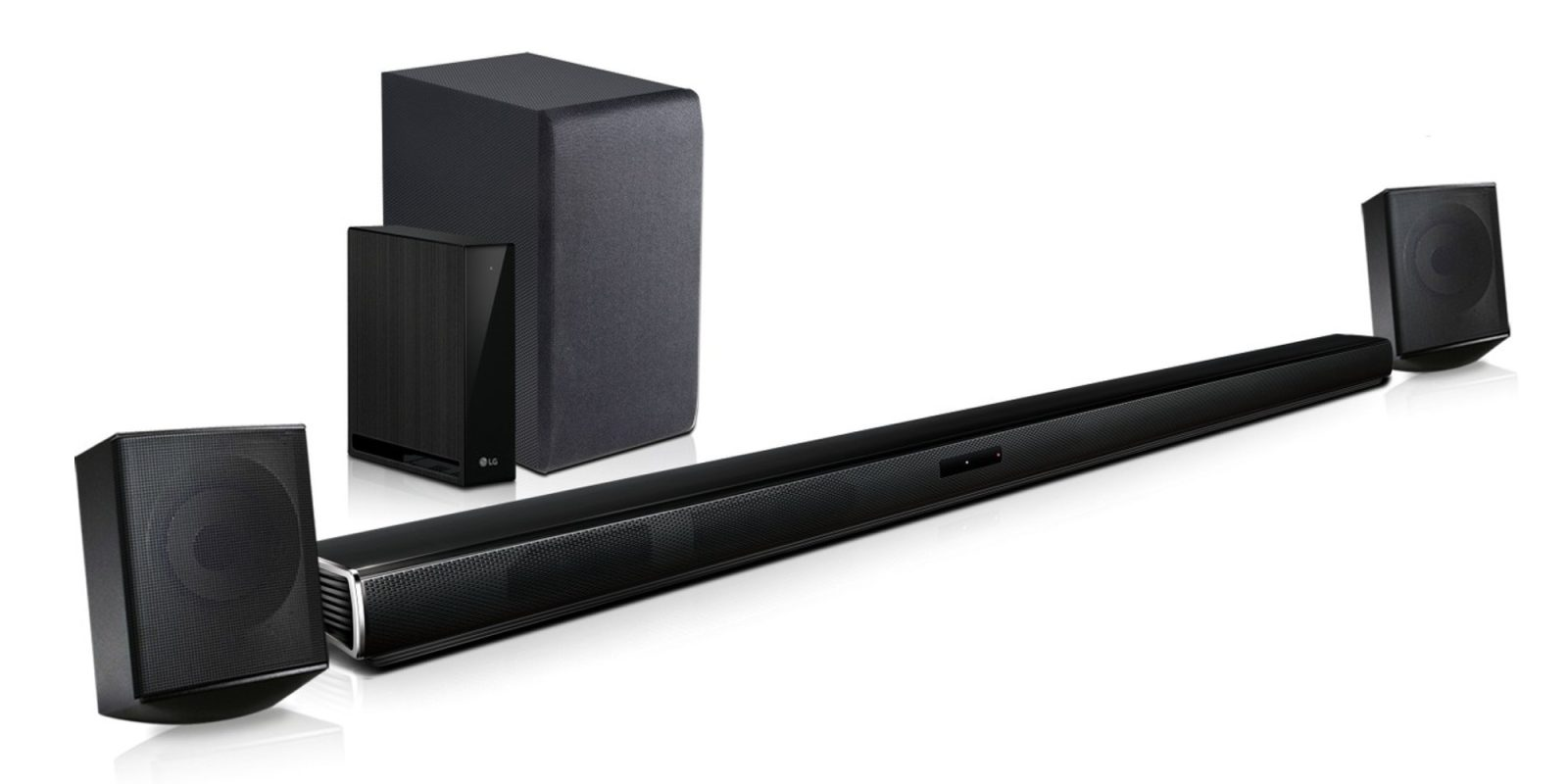 LG 4 1-Ch  Bluetooth Soundbar System amplifies your home