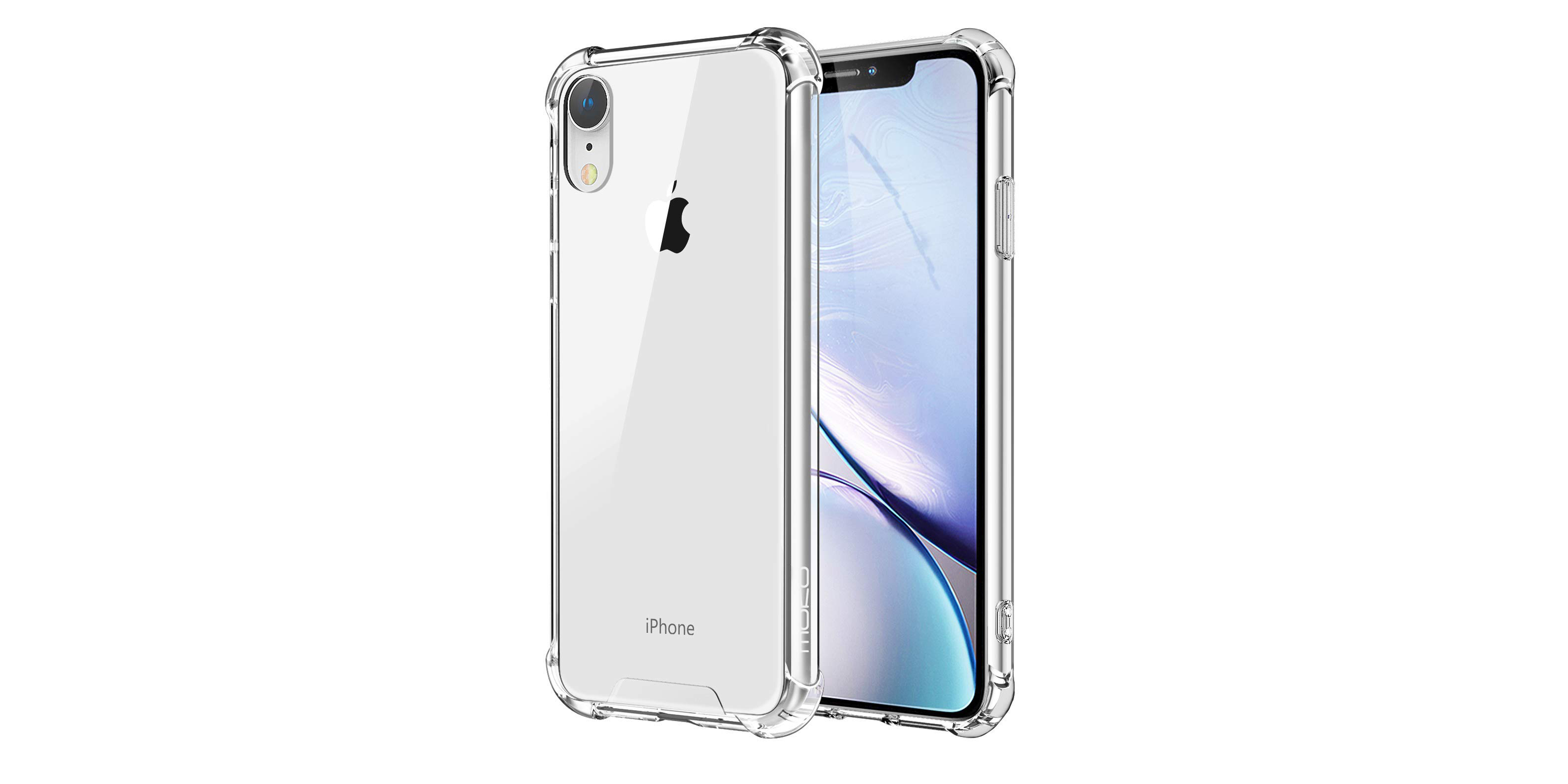 MoKo iPhone XR Clear Case