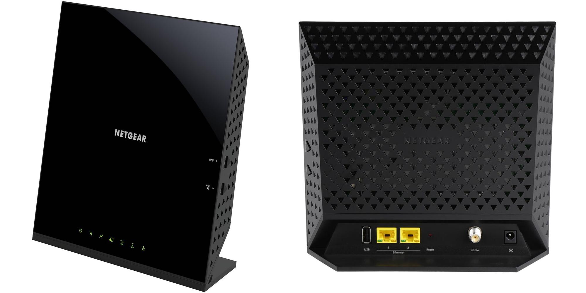 NETGEAR's 802.11ac Wi-Fi Router doubles as a DOCSIS 3.0 Modem: $119 (Reg. $150)