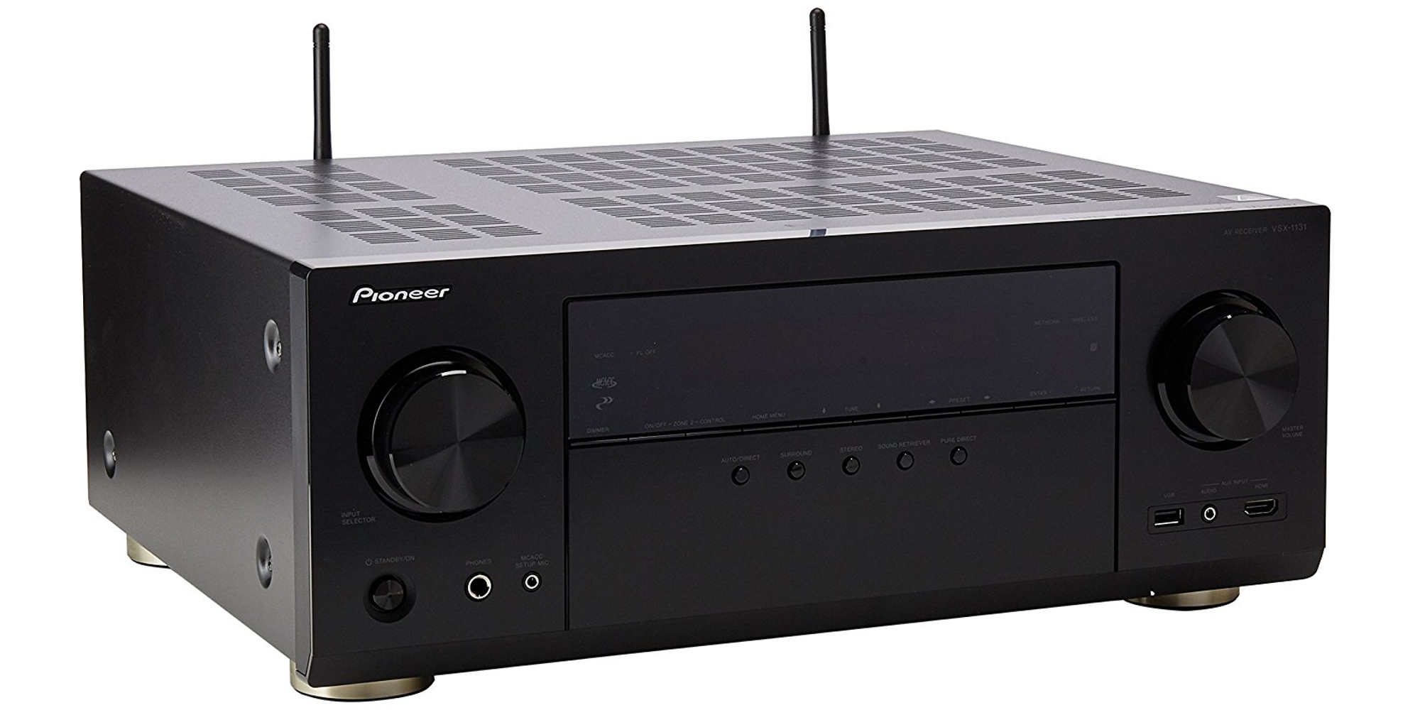 Pioneer's 7.2-Ch. A/V receiver supports AirPlay, Chromecast, & 4K HDR for $228 ($340 value)