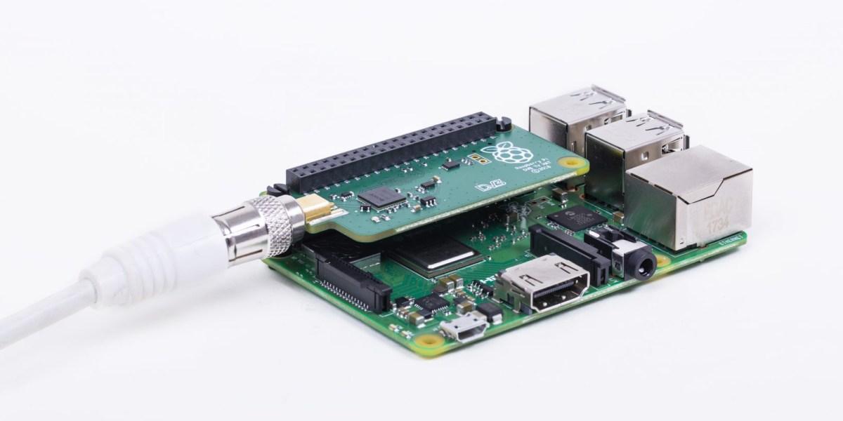Raspberry Pi TV Hat With Pi 3