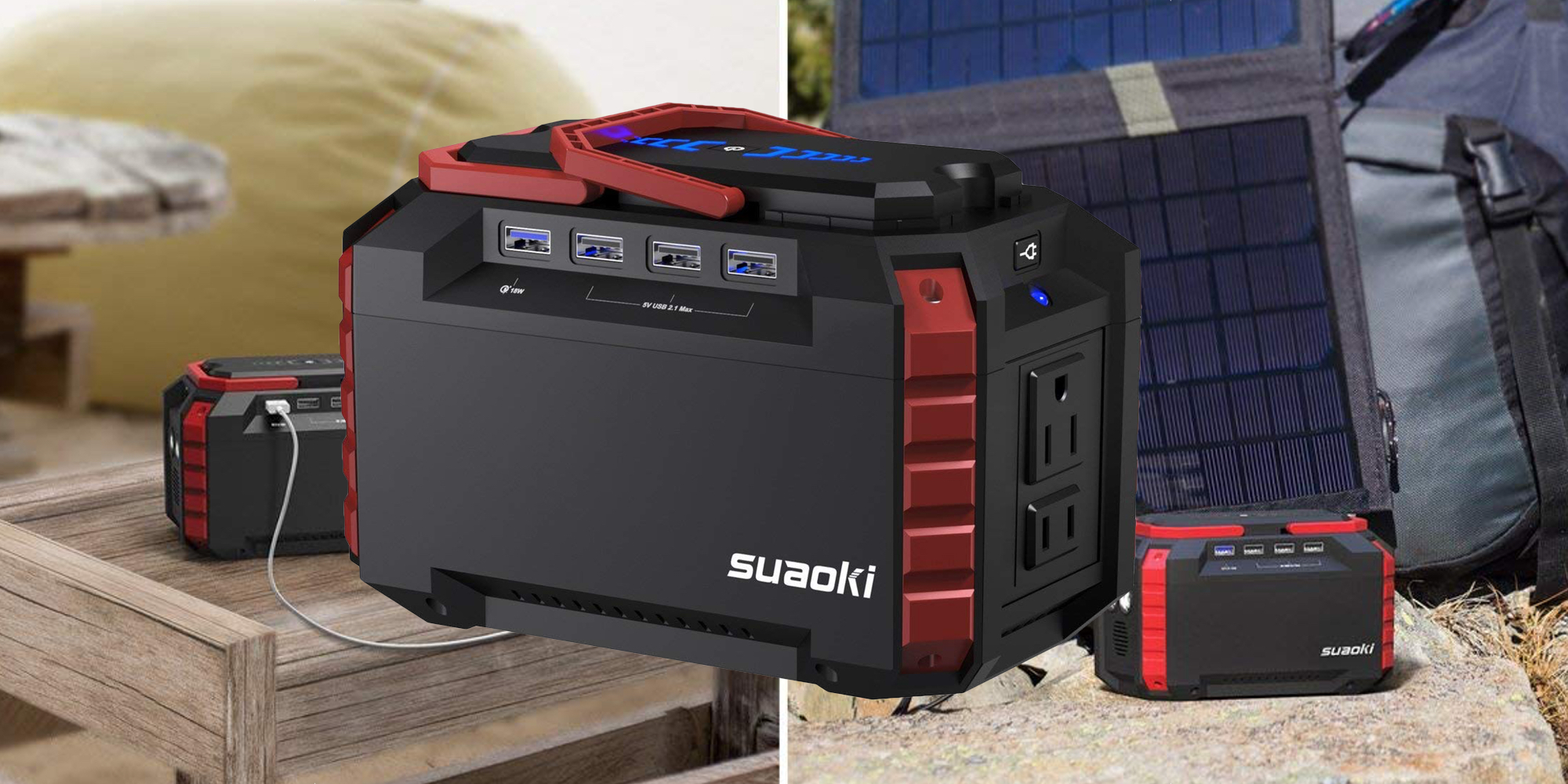 Suaoki's Power Station keeps your gear running w/ a 40500mAh battery at $105 (25% off)