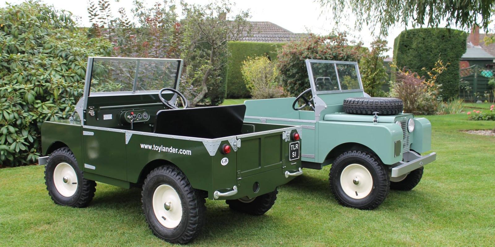 Toy Lander Land Rover 1