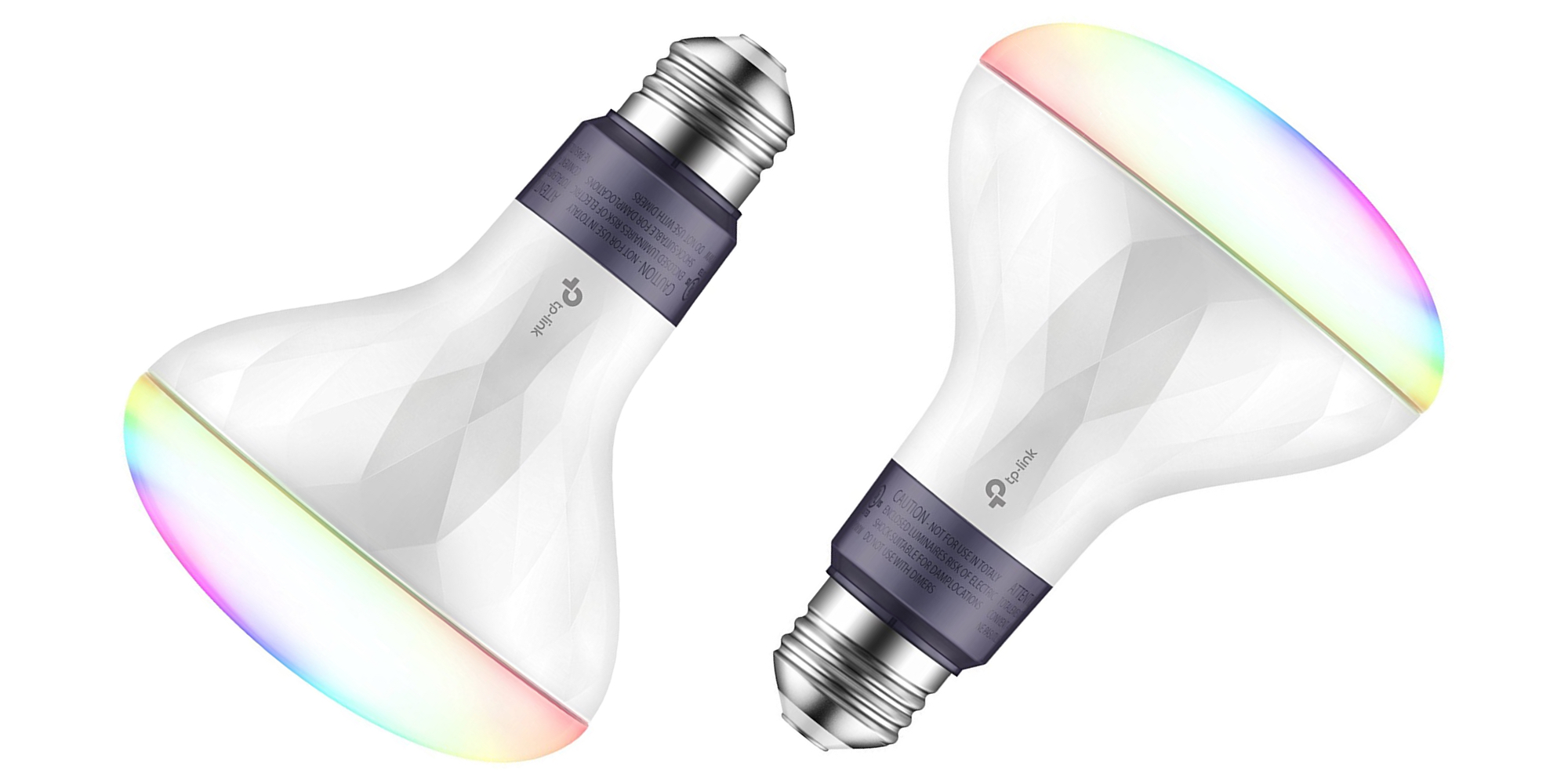 Grab Two Tp Link Multicolor Smart Led Light Bulbs For The