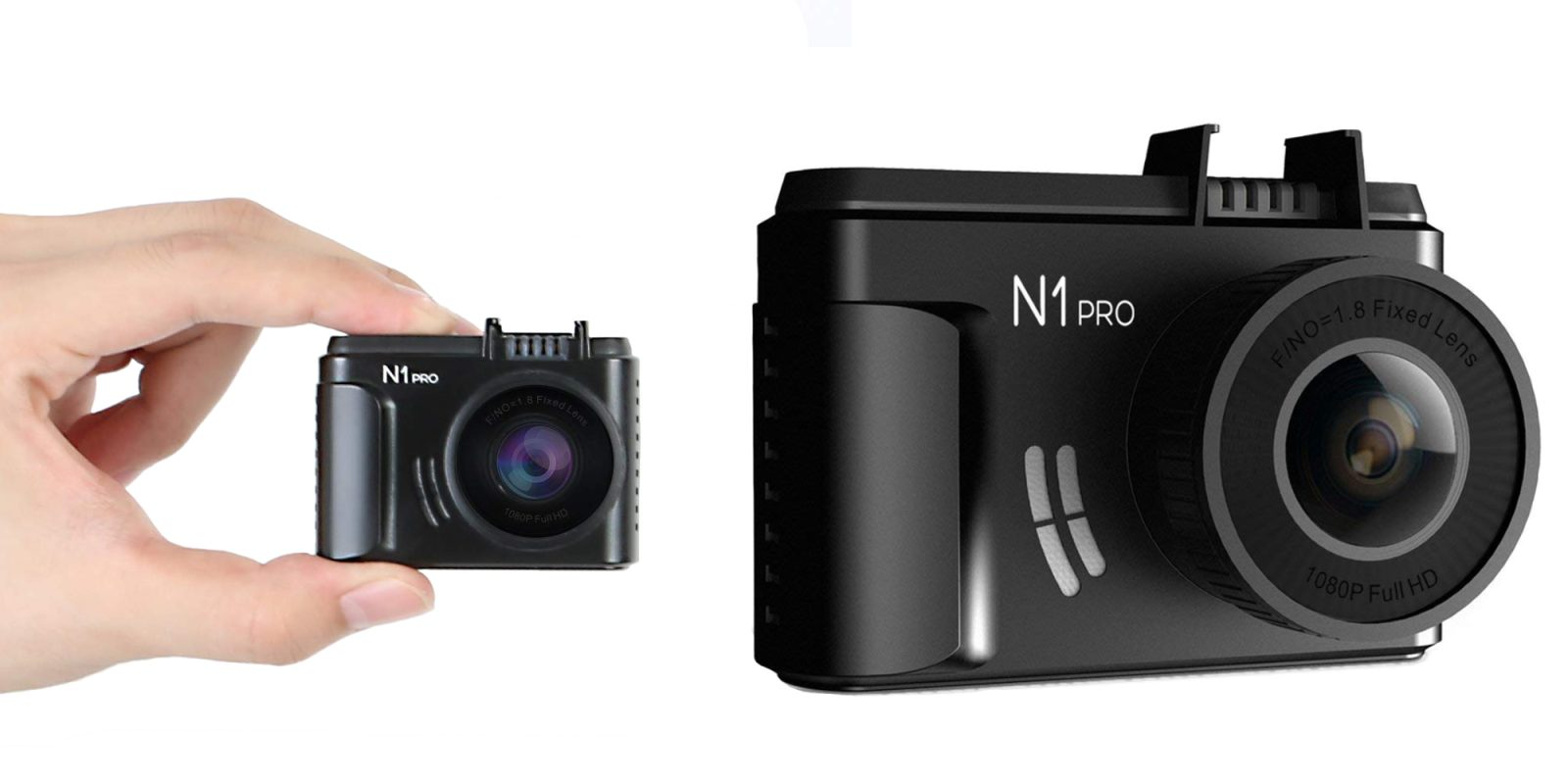 Every vehicle should have a dash cam, these models record 1080/1440p from $53