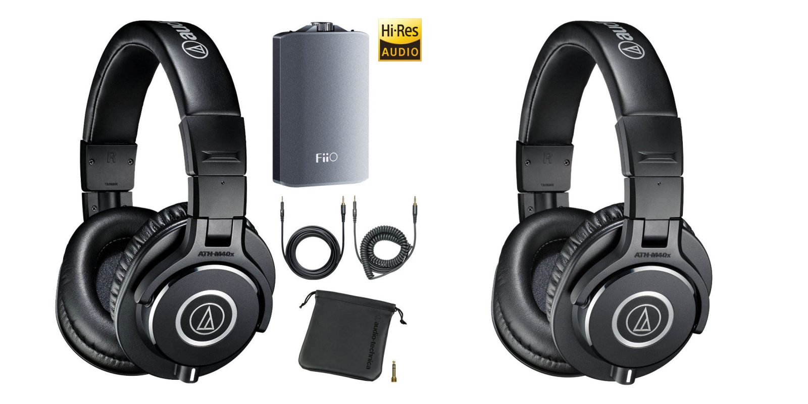 0431b4c945d Audio-Technica Headphone Deals from $59: ATH-M40x + FiiO A3, ATH-M30x, more