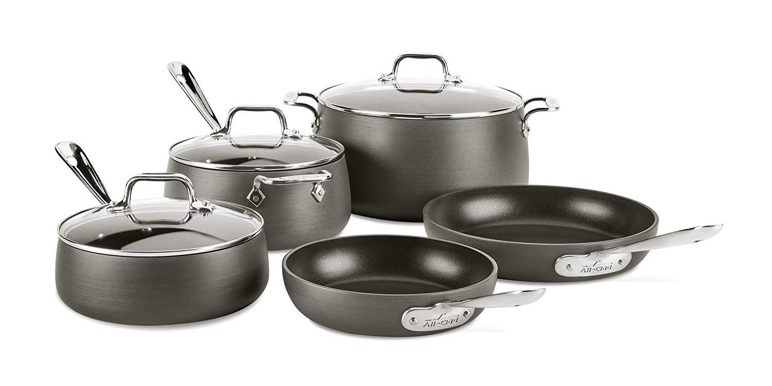 separation shoes aed9c 9e771 ... Amazon is offering 30% off select All-Clad cookware sets with prices  starting from  154. The All-Clad HA1 8-Piece Hard Anodized Nonstick  Cookware ...