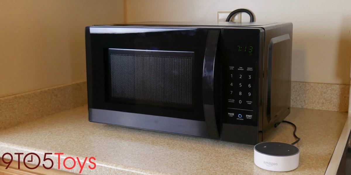 AmazonBasics Microwave review lead