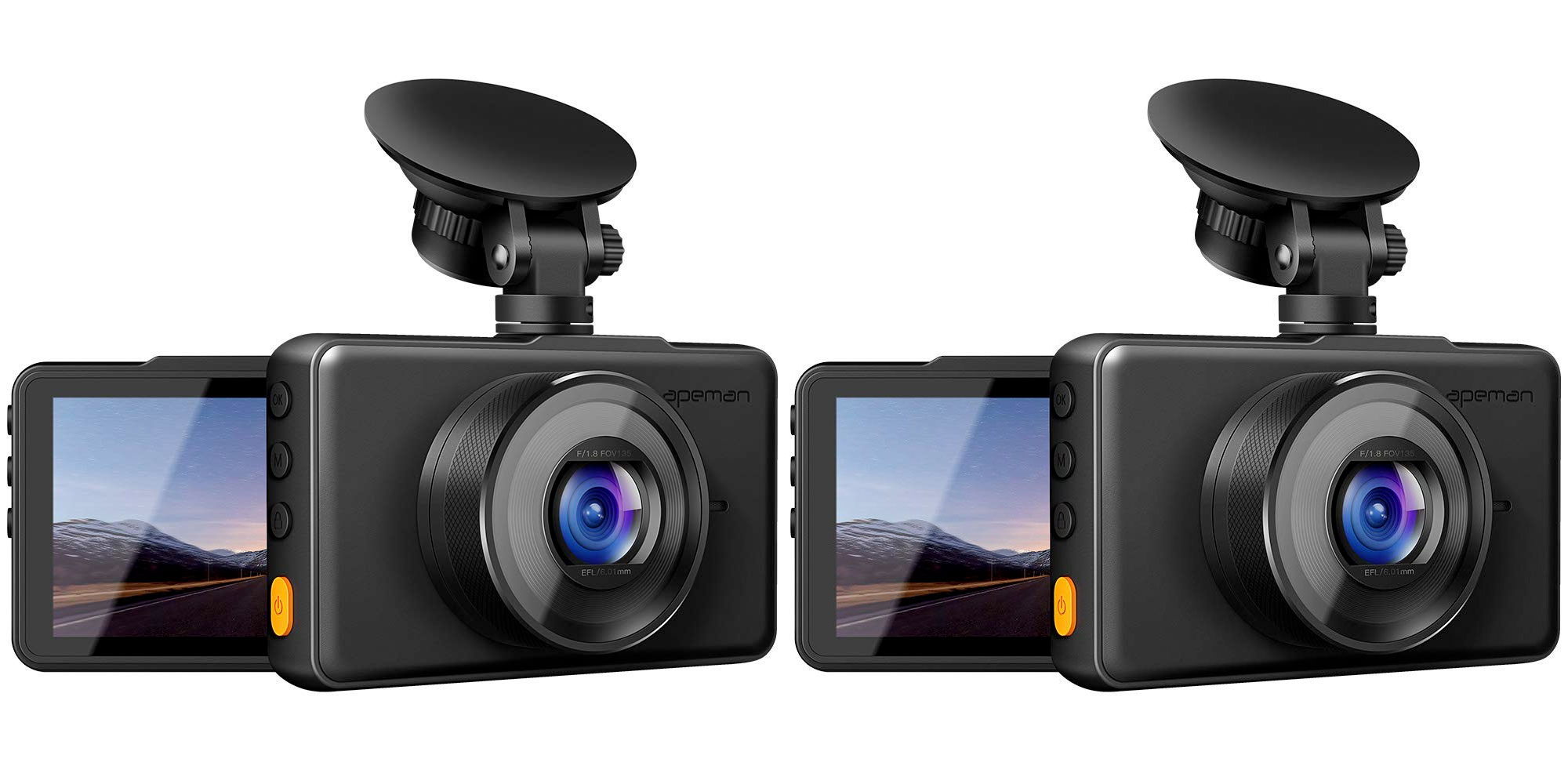 Record your drives w/ Apeman's 1080p dash camera for $29.50 shipped at Amazon