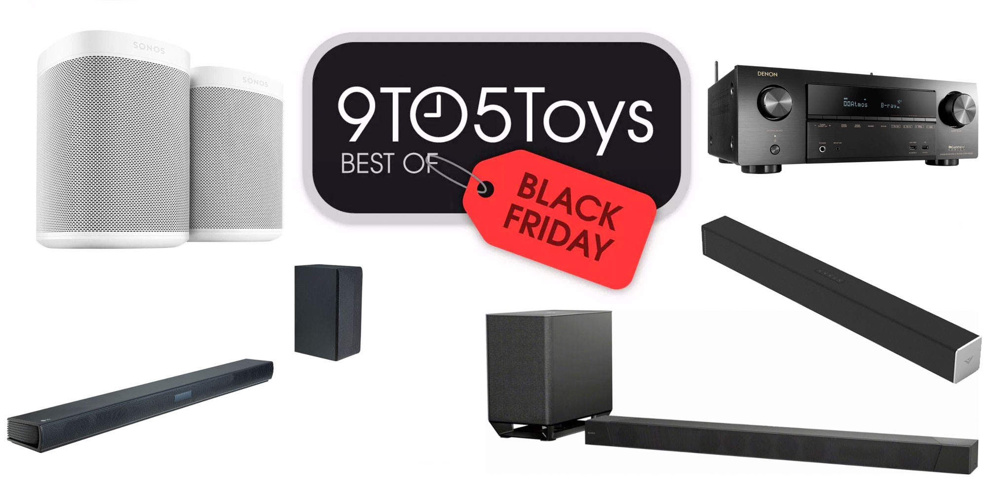 Best of Black Friday 2018 – Home Theater: Sonos, Dolby Atmos & AirPlay 2 A/V receivers, more