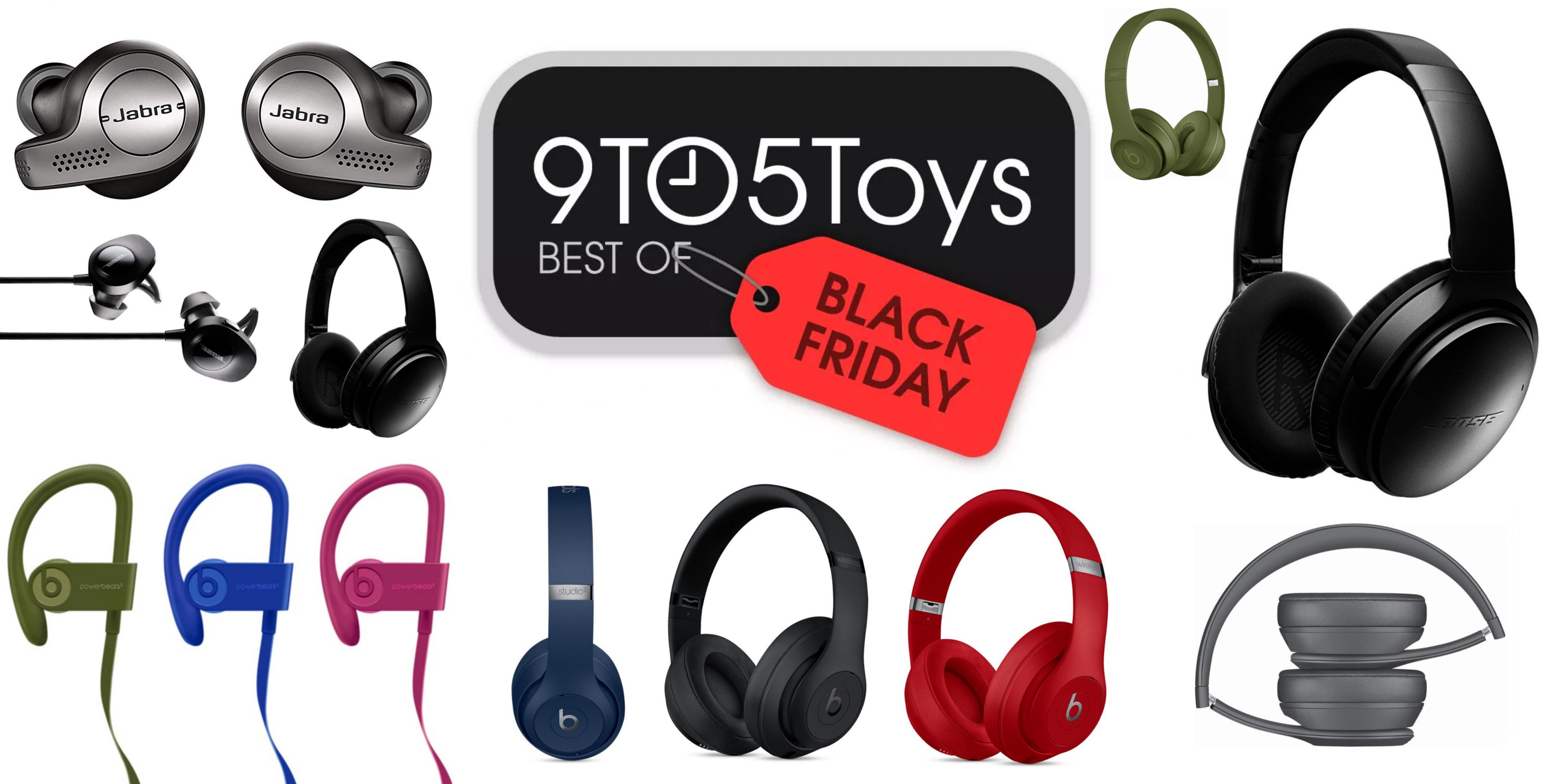 Best Of Black Friday 2018 Headphones Bose Quietcomfort Beats Truly Wireless More 9to5toys