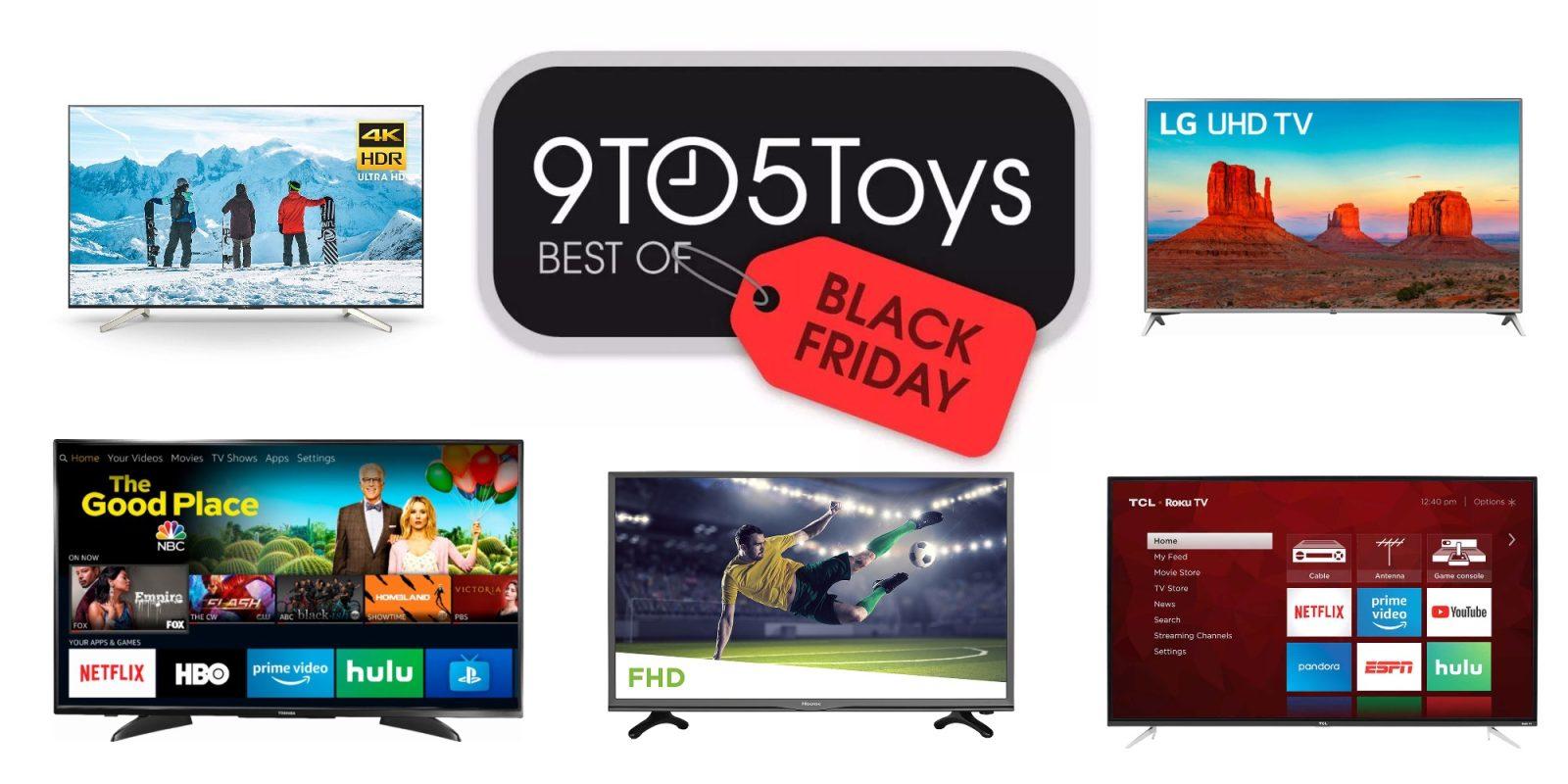 505d1b37f Best of Black Friday 2018 – TVs  4K from  130