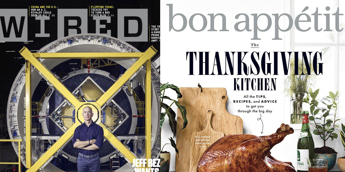 Pre-Black Friday Magazine Deals under $4/yr: Wired, Bon Appetit and more