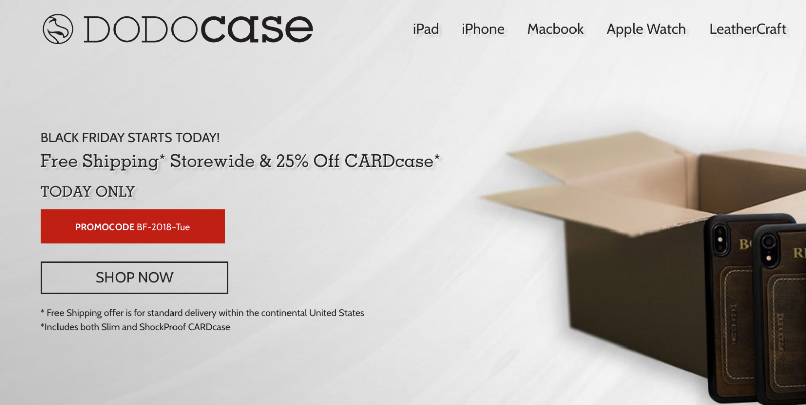 DODOcase offers 25% off iPhone XS/Max/R cases for today only + free shipping sitewide