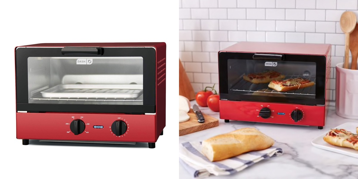 Dash S Compact Toaster Oven Is Available At Amazon For A