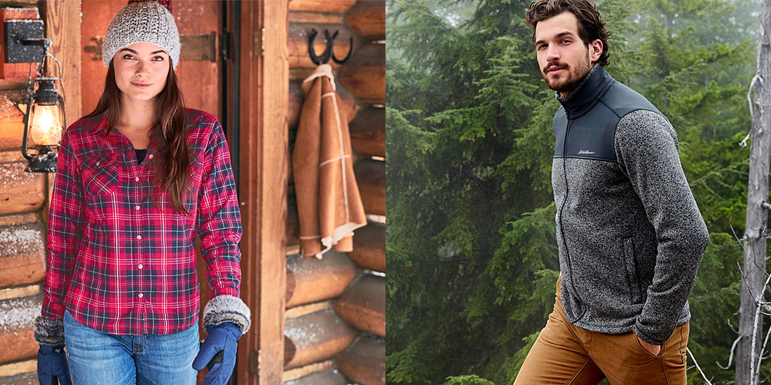Eddie Bauer Veteran's Day Sale features up to 60% off outerwear & more for fall