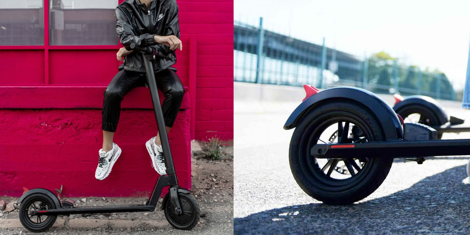 Ride around town on this electric scooter at 15.5 MPH for 12 miles: $329 (Reg. $400)