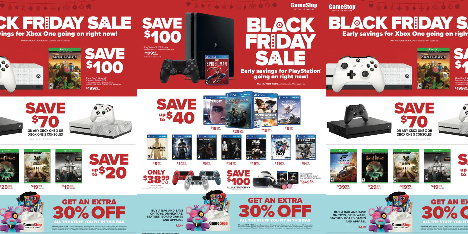 The Best Xbox One Deals For Black Friday 2019