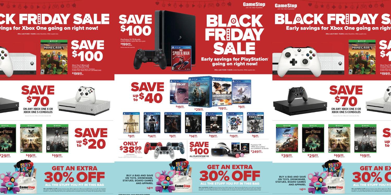 deals on black friday at gamestop