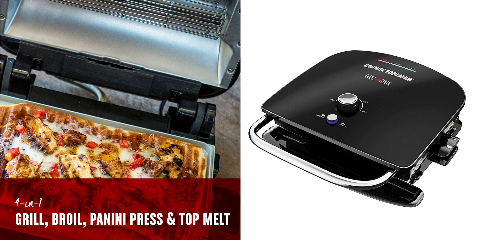 Save 40 On George Foreman S New 7 In 1 Electric Indoor