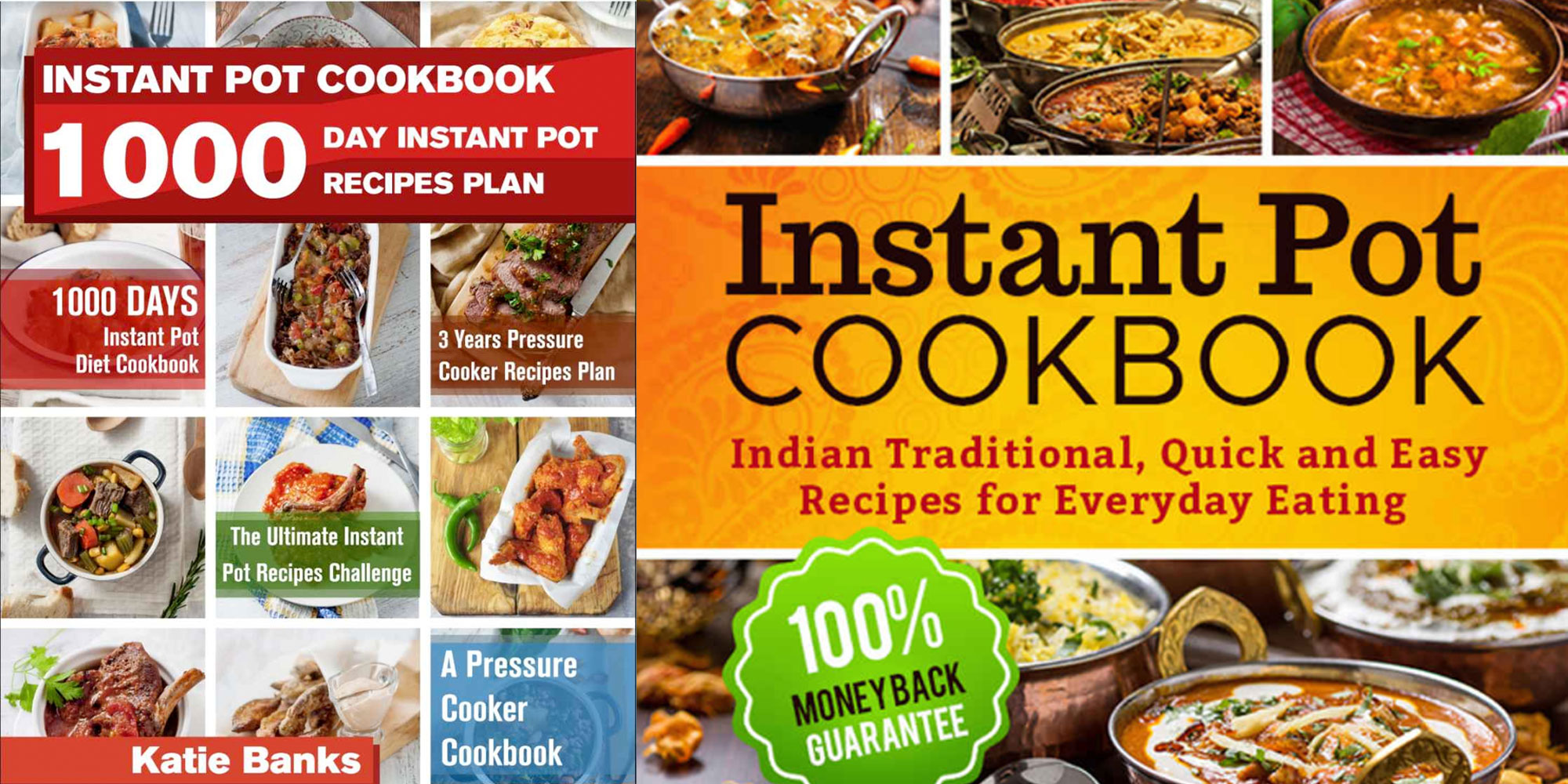These Instant Pot cookbooks have over 1,000 recipes for FREE on Kindle