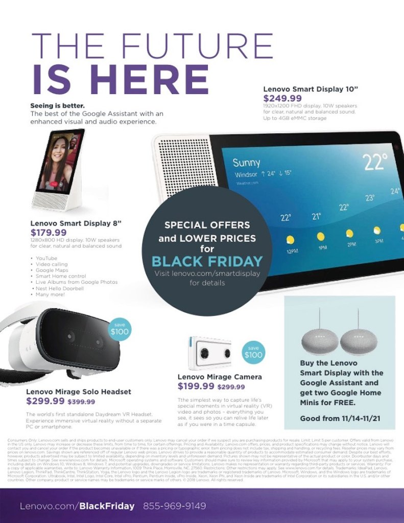 Lenovo Black Friday Ad Has Budget Friendly Laptops And More 9to5toys