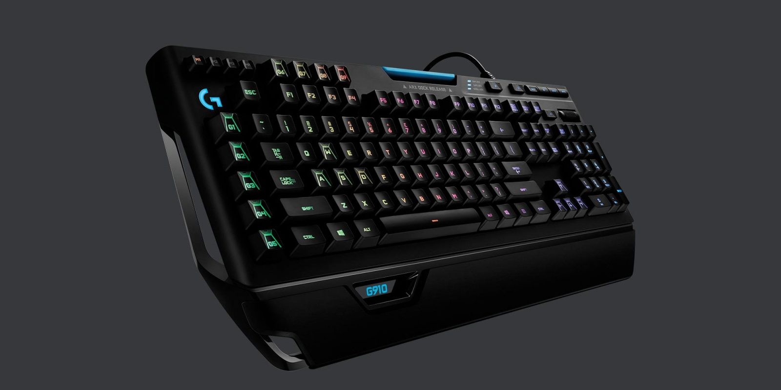 Logitech's G910 Orion Spark Gaming Keyboard touts all the